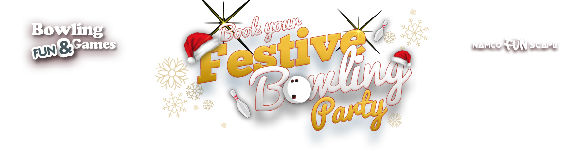 Book your festive bowling party now!
